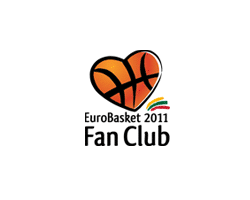 """EuroBasket Fan Club""<br/ >logotipo sukūrimas"
