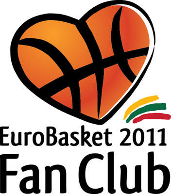 """EuroBasket Fan Club"" logotipas"