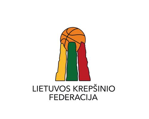 �lietuvos krepšinio federacija� logotipo korekcija ir