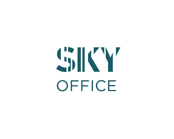 """Sky Office"" logotipo sukūrimas"