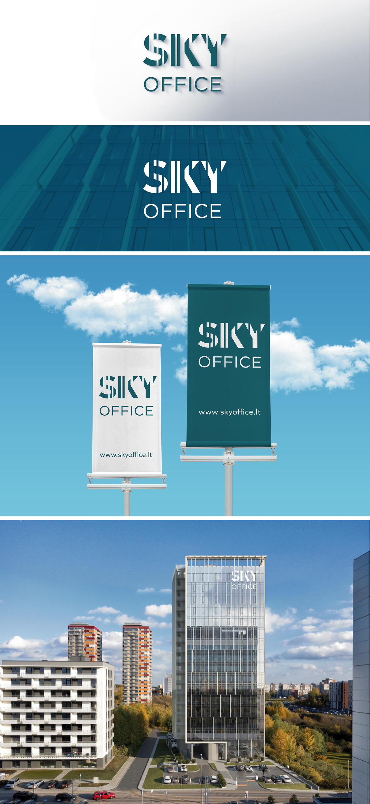"""Sky Office"" logotipas"